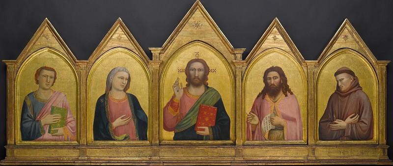 The Peruzzi Polyptych. Giotto di Bondone