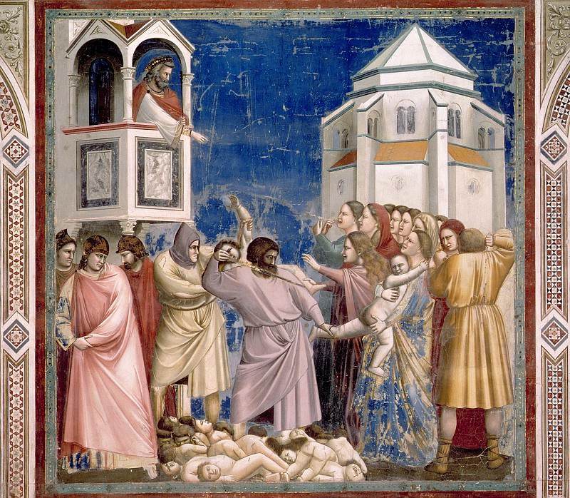 21. Massacre of the Innocents. Giotto di Bondone
