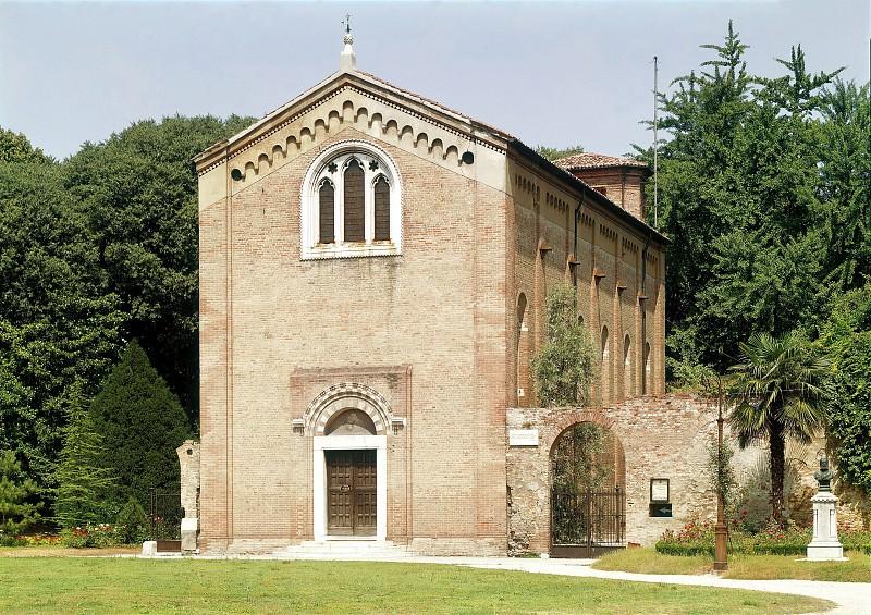 Cappella degli Scrovegni - exterior view. Giotto di Bondone