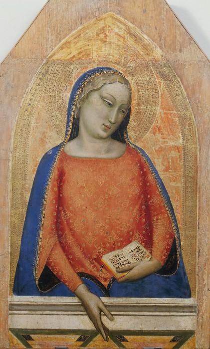 Madonna del Magnificat (school). Giotto di Bondone