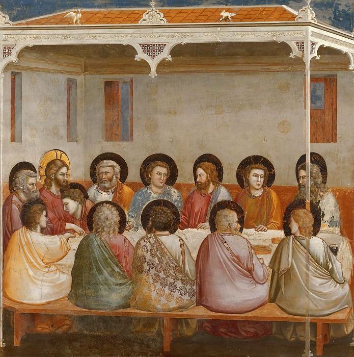29. Last Supper. Giotto di Bondone