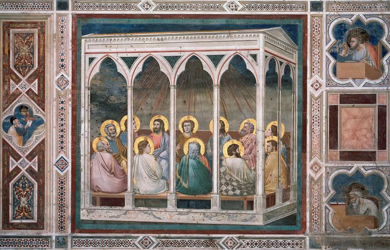 39. Pentecost. Giotto di Bondone