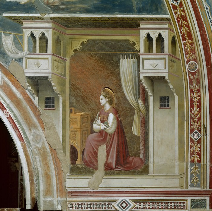 15. Our Lady of the Annunciation. Giotto di Bondone
