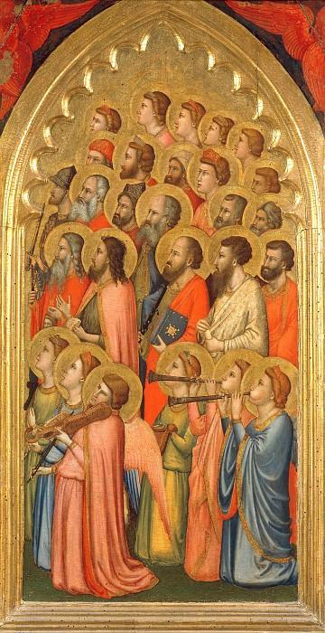 Baroncelli Polyptych. Giotto di Bondone (fragment)