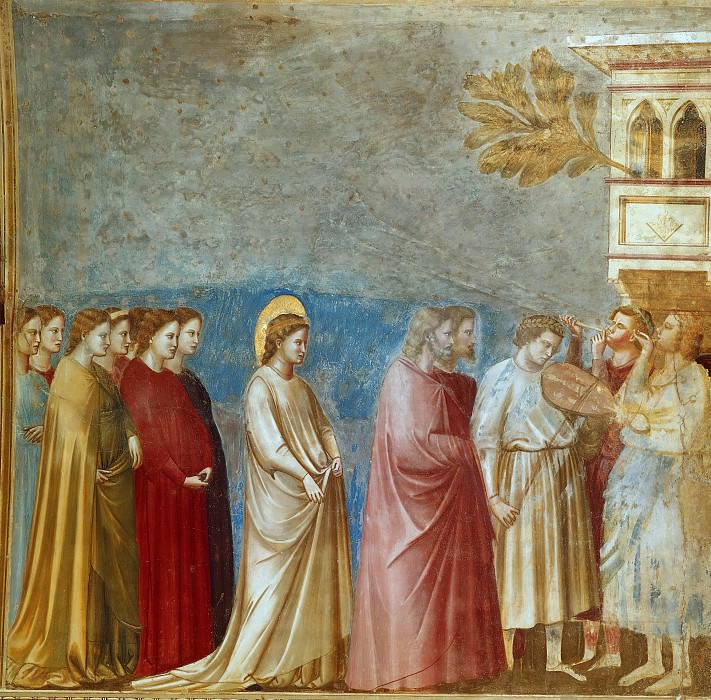 12. Wedding Procession. Giotto di Bondone