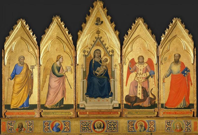 Polyptych. Giotto di Bondone