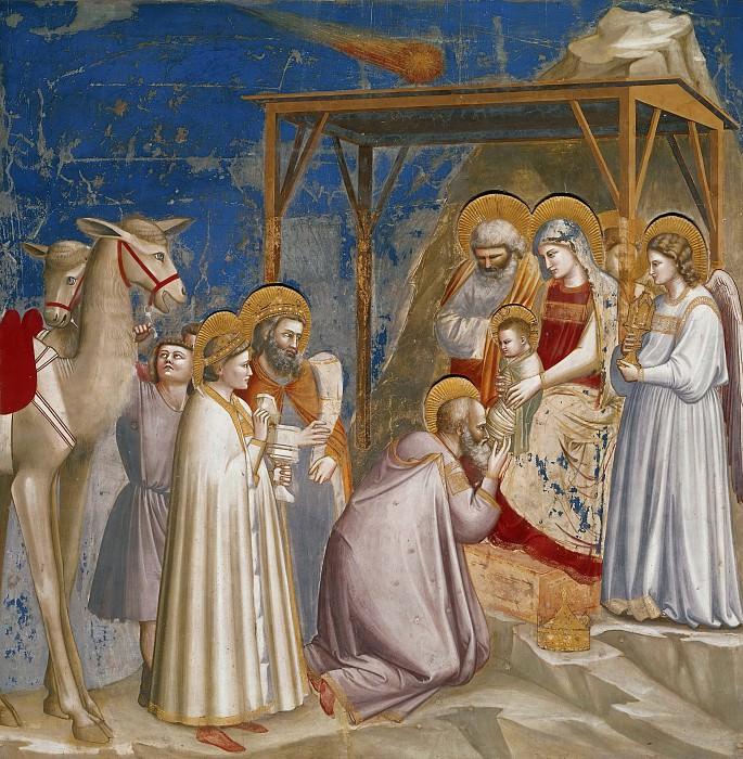 18. Adoration of the Magi. Giotto di Bondone