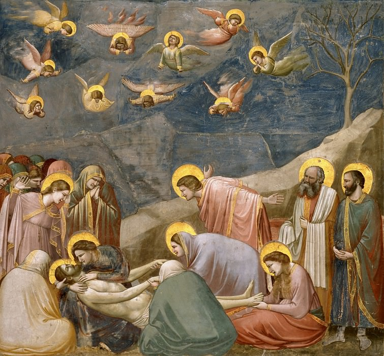 36. The Mourning of Christ. Giotto di Bondone