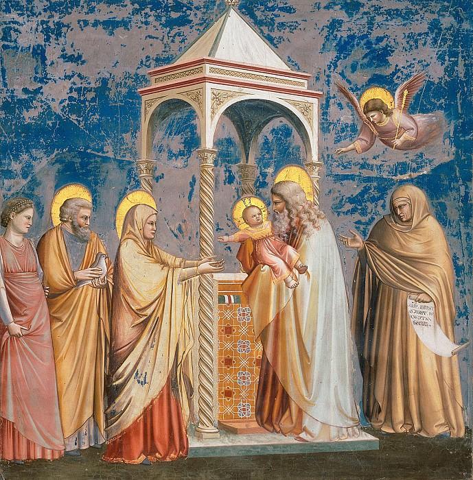 19. Presentation of Christ at the Temple. Giotto di Bondone