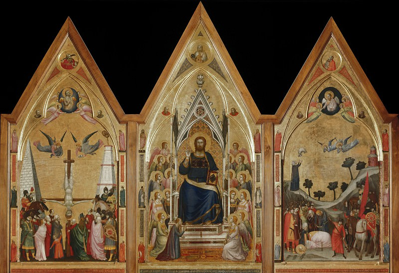 The Stefaneschi Triptych (recto). Giotto di Bondone
