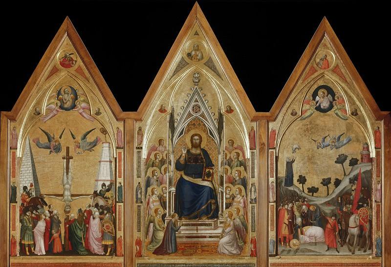 Триптих Стефанески (лицевая сторона). Джотто ди Бондоне