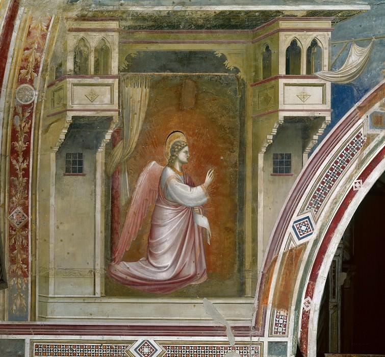 14. Angel of the Annunciation. Giotto di Bondone