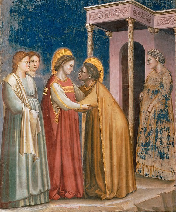 16. Visitation. Giotto di Bondone