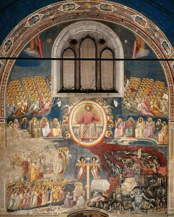 54 Last Judgment. Giotto di Bondone