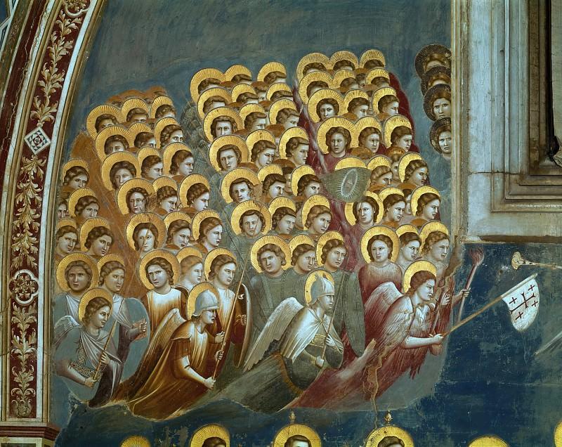 54 Last Judgment; detail. Giotto di Bondone