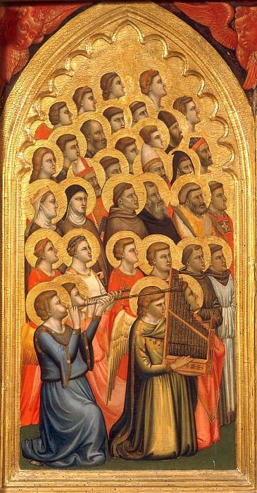 Baroncelli Polyptych, fragment. Giotto di Bondone