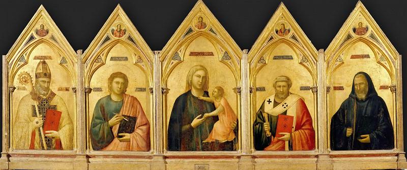 Badia Polyptych. Giotto di Bondone