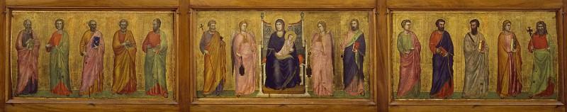 The Stefaneschi Triptych (predella). Giotto di Bondone