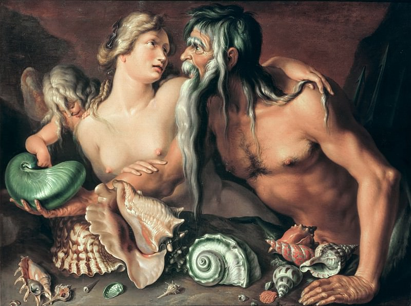 Нептун и Амфитрита. Якоб де Гейн