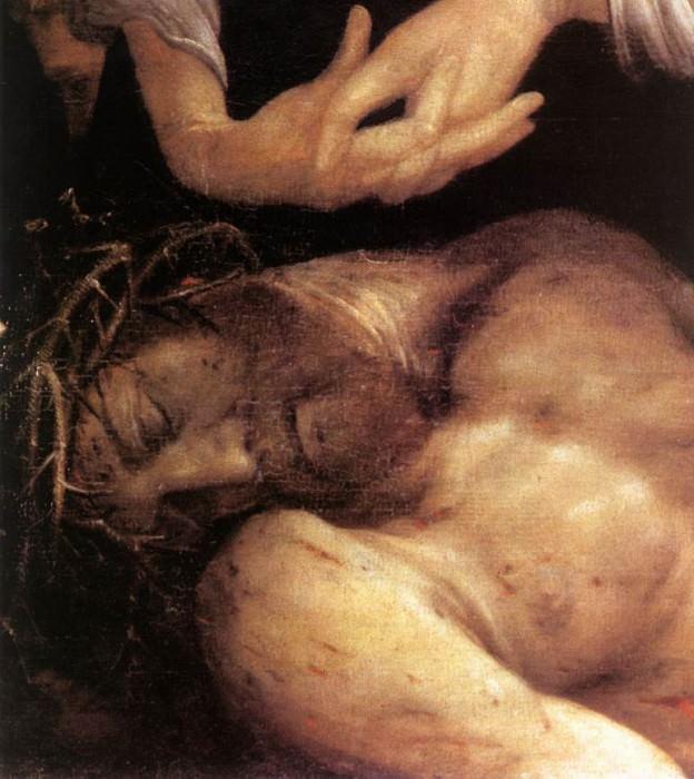 Оплакивание Христа. Маттиас Грюневальд