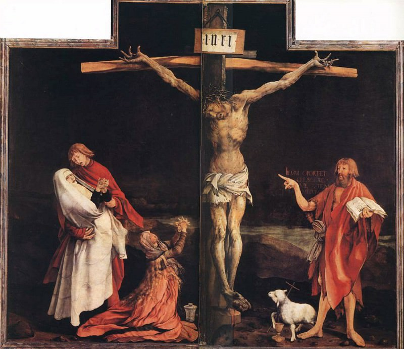 The Crucifixion. Matthias Grunewald