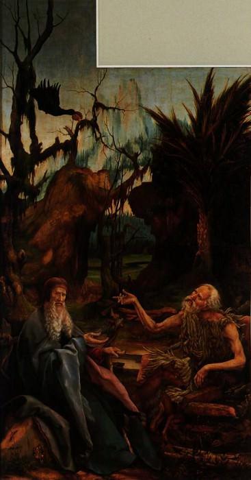 grunewald.isenheim-meeting. Matthias Grunewald