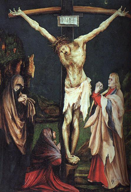 Распятие (называемое Малым распятием), ок.1502. Маттиас Грюневальд