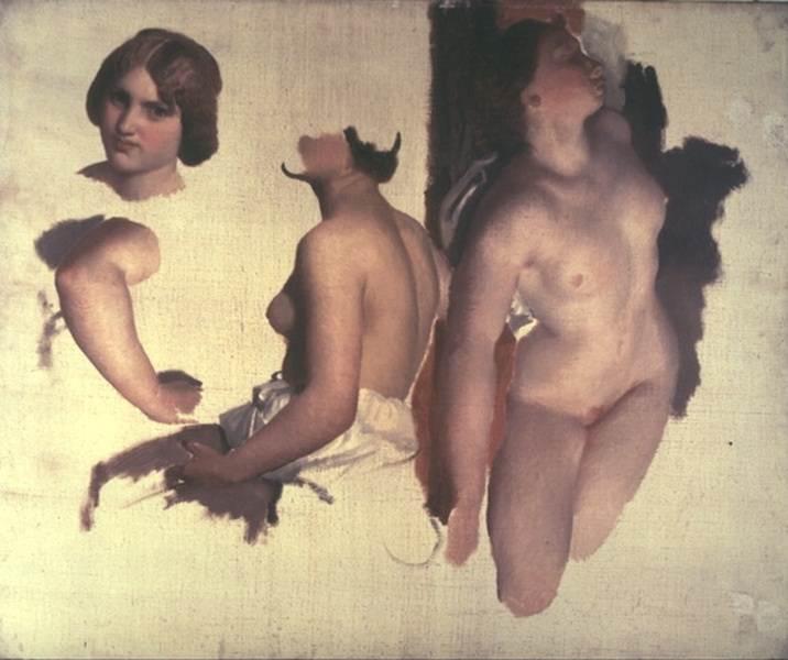 Tanz der Bacchantinnen. Marc Gabriel Charles Gleyre