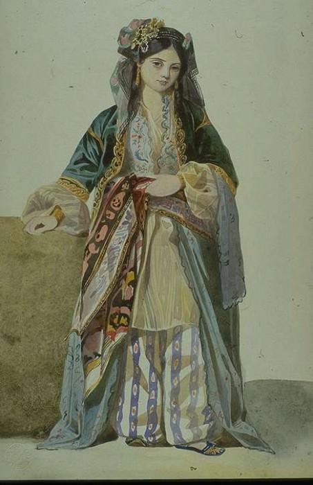 Турчанка (Анетта), Смирна. Марк Габриэль Шарль Глейр
