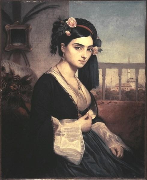 Oriental Lady. Marc Gabriel Charles Gleyre