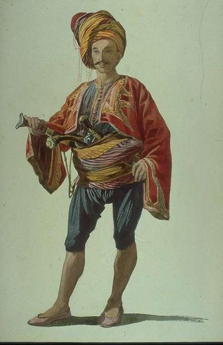 Zeibeck of Smyrna. Marc Gabriel Charles Gleyre