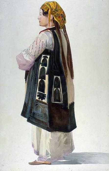 Albanian Peasant Athens. Marc Gabriel Charles Gleyre