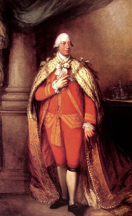 King George III. Thomas Gainsborough