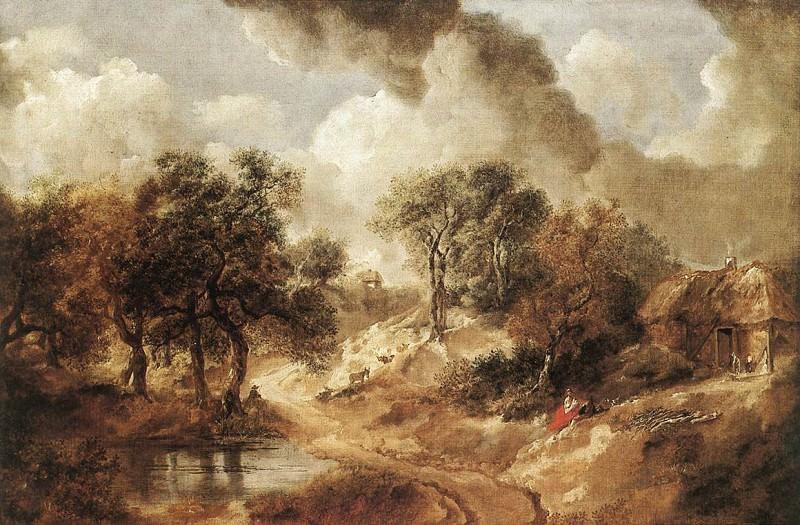 Пейзаж (графство Суффолк), 1748. Томас Гейнсборо