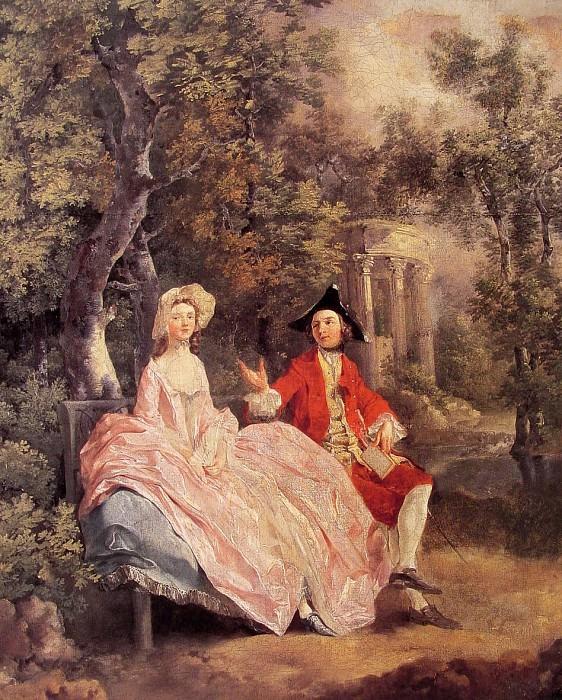 Беседа в парке. Томас Гейнсборо