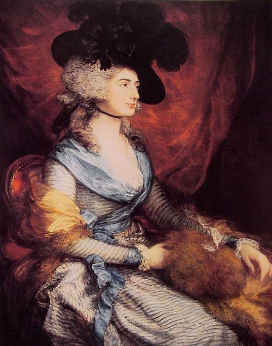 Mrs Siddons. Thomas Gainsborough