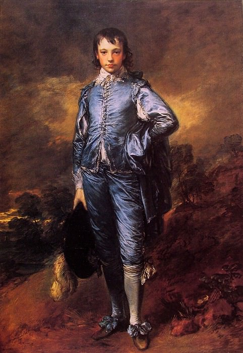 The Blue Boy (Jonathan Buttall). Thomas Gainsborough