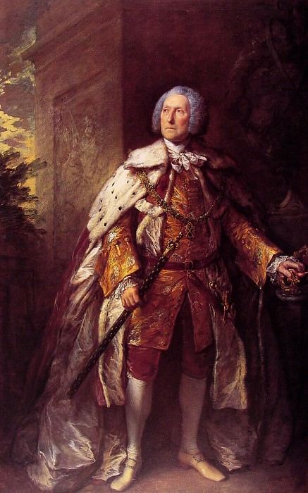 John, Fourth Duke of Argyll. Thomas Gainsborough
