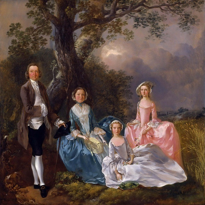 The Gravenor Family. Thomas Gainsborough