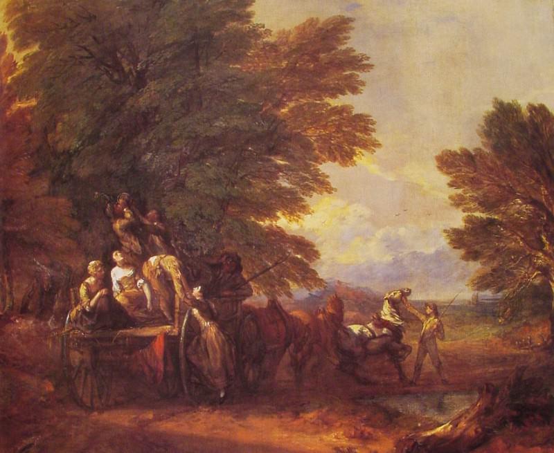 The Harvest Wagon. Thomas Gainsborough