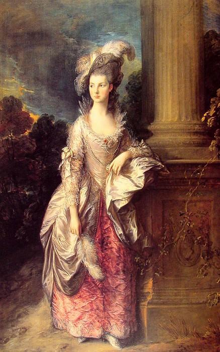 Mrs Graham 1777. Thomas Gainsborough