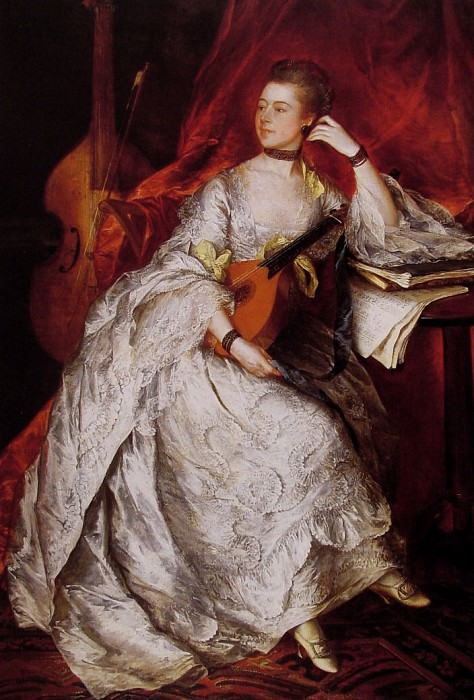 Ann Ford (Mrs Philip Thicknesse). Thomas Gainsborough