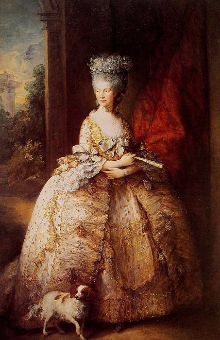 Queen Charlotte. Thomas Gainsborough