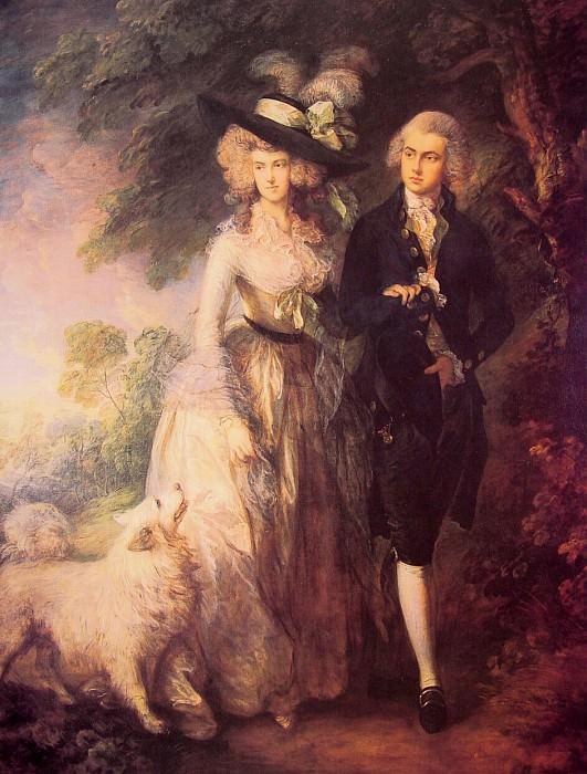 The Morning Walk. Thomas Gainsborough