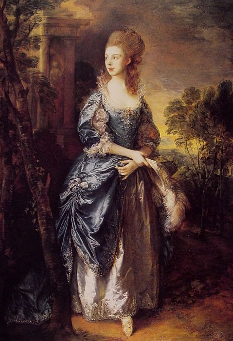 The Hon. Frances Duncombe. Thomas Gainsborough