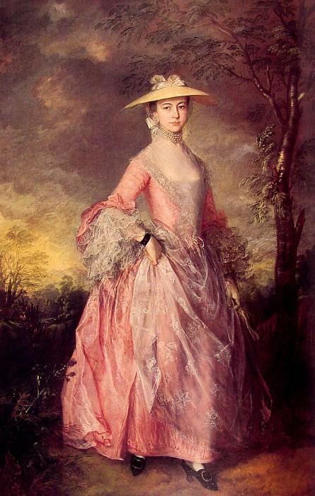 Мэри, графиня Хау. Томас Гейнсборо