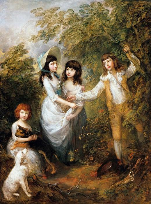 The Marsham children. Thomas Gainsborough