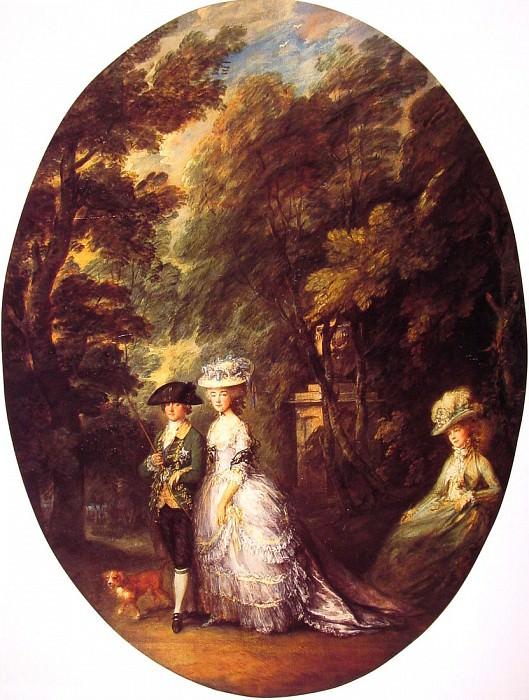 The Duke and Duchess of Cumberland. Thomas Gainsborough