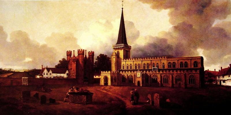 St Marys Church Hadleigh. Thomas Gainsborough