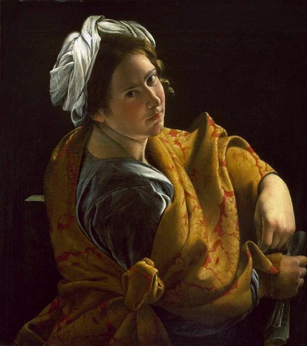 Portrait of a Young Woman as a Sibyl. Orazio Gentileschi